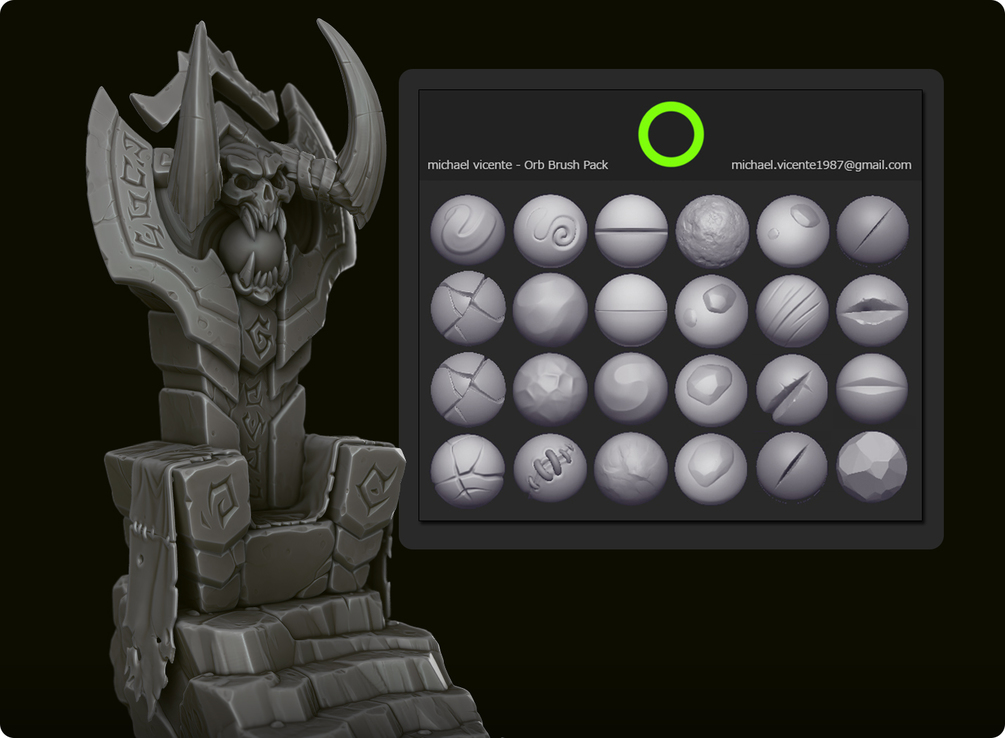 ZBrush Sculpt Brushes - Startup Problem - Basics & Interface