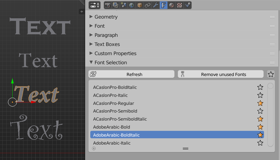 Add-on: Easy Font Management with
