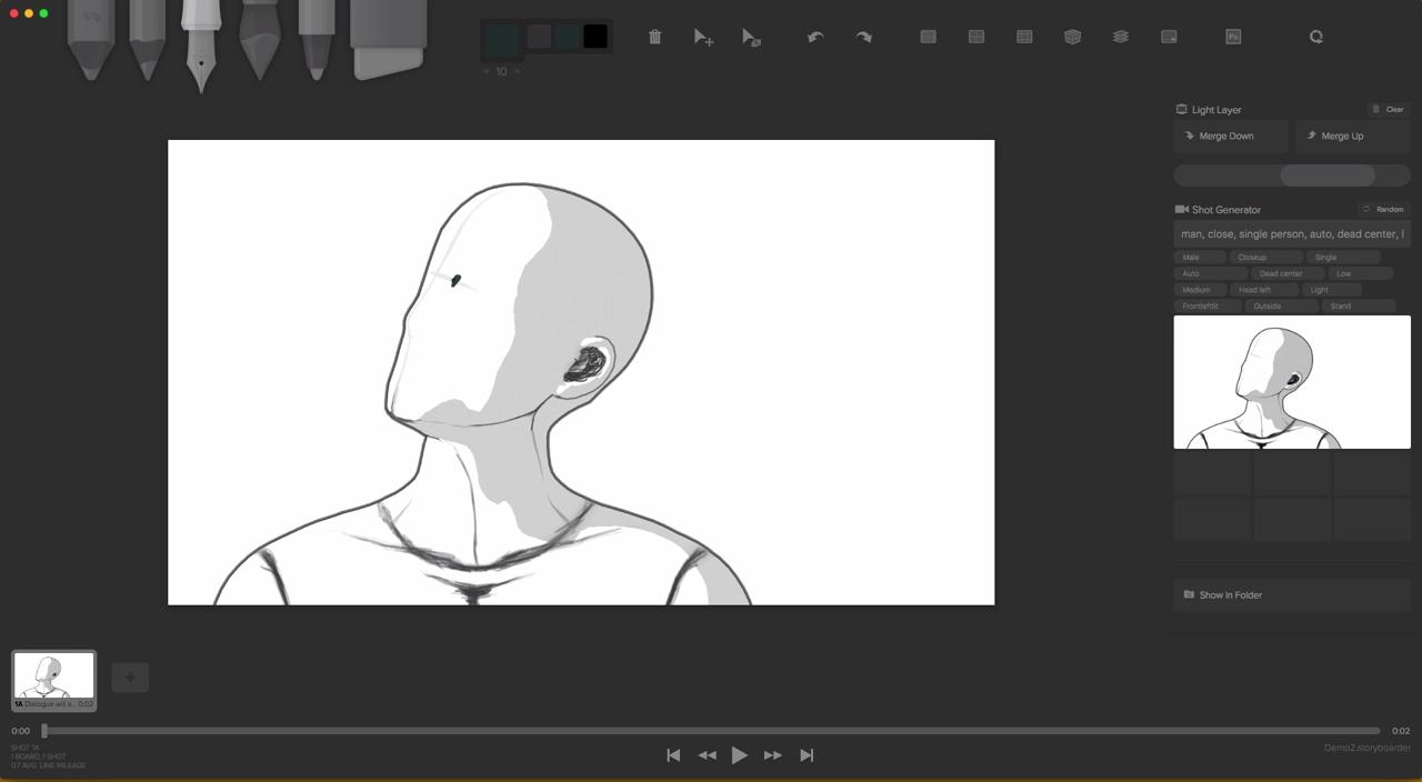 non-Blender] Review: Storyboarder - BlenderNation