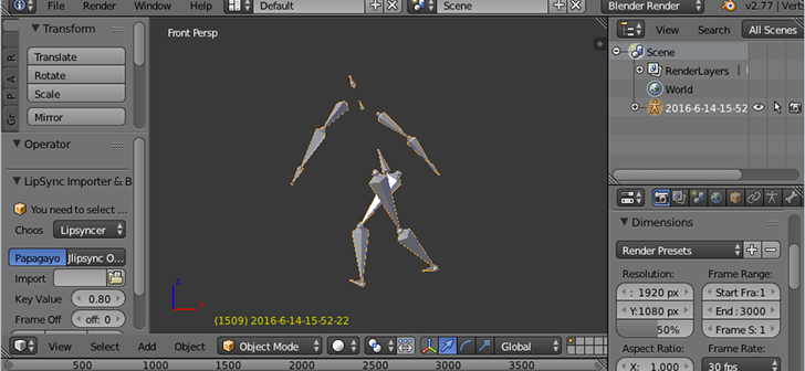 Open source Kinect motion capture toolkit - BlenderNation
