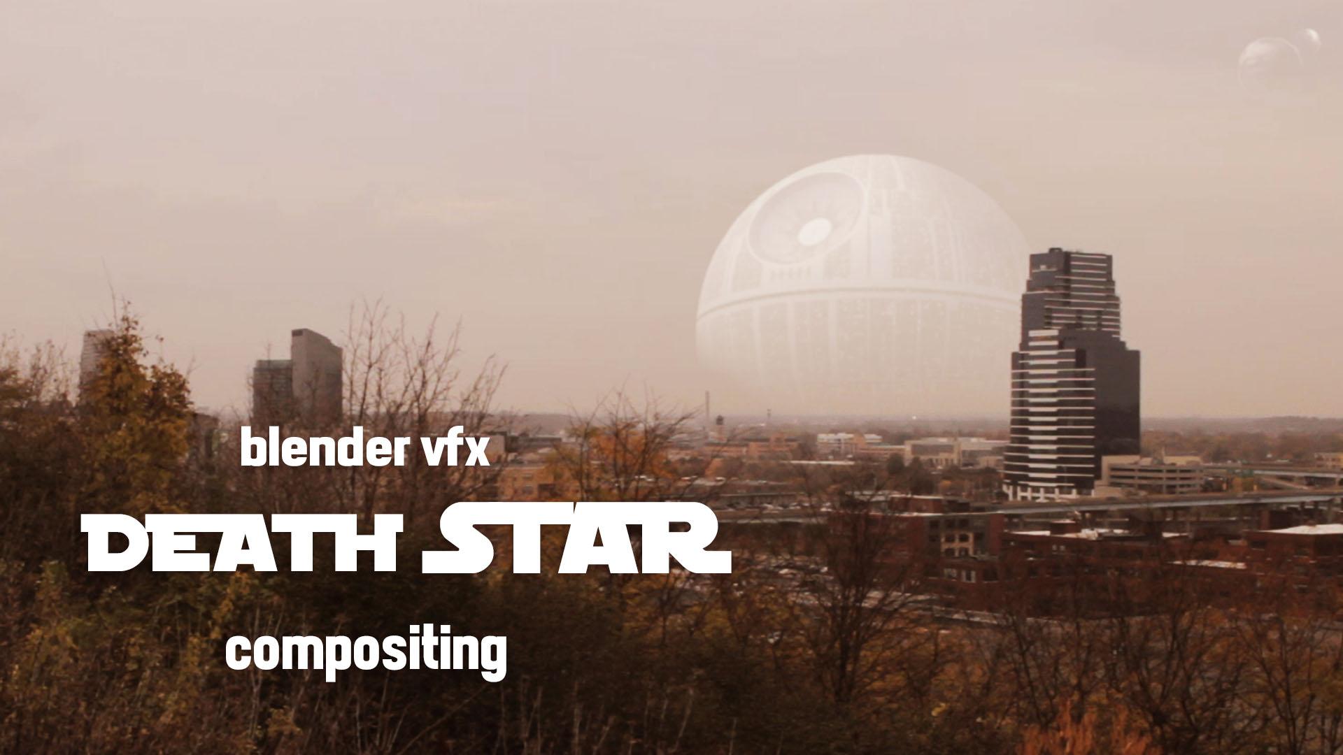 Death Star VFX! 2D Compositing in Blender - BlenderNation