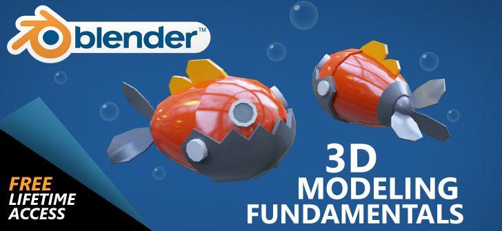 Free course: Blender 3D modeling fundamentals - BlenderNation