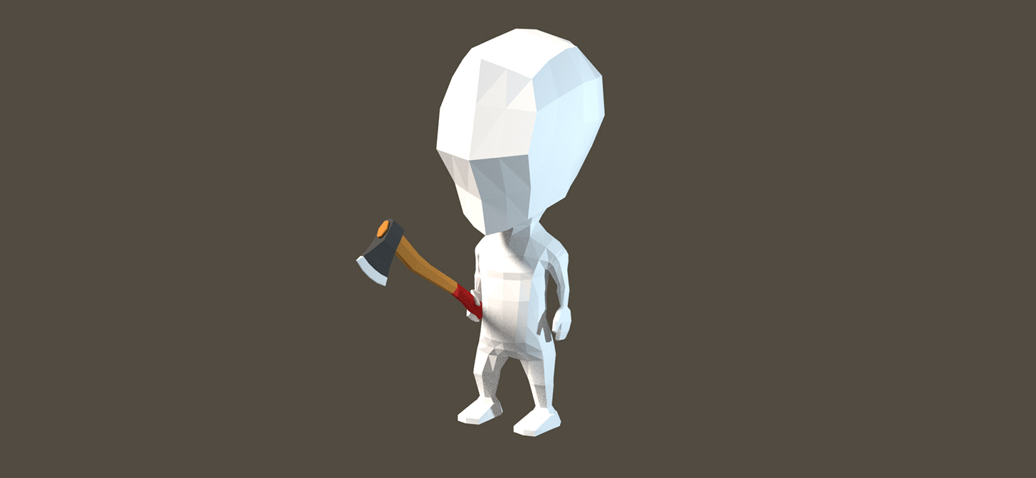 Low Poly Character Modeling Tutorial Blender : Blender low poly axe modeling and texturing blendernation
