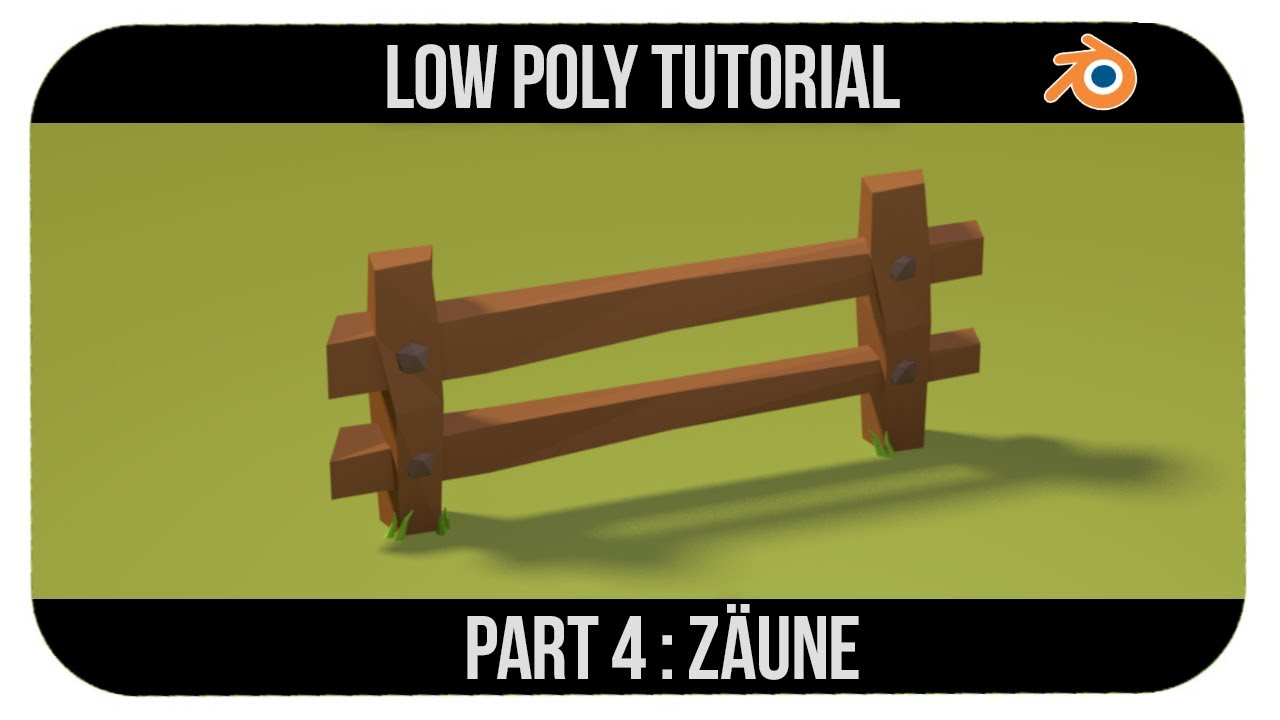 Create a low poly fence blendernation create a low poly fence baditri Choice Image