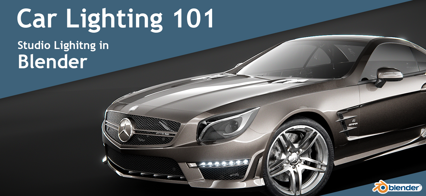 Car Lighting 101 Studio Lighting In Blender Blendernation
