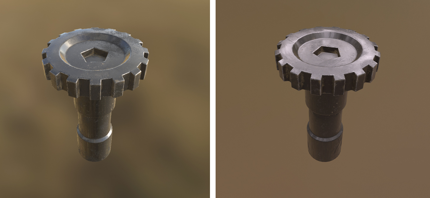 Substance Painter textures to Blender Cycles & Eevee