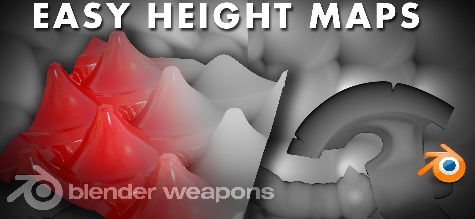 Easy Height map - BlenderNation