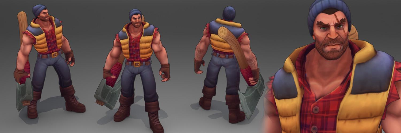 Art Spotlight: Lumberjack Darius