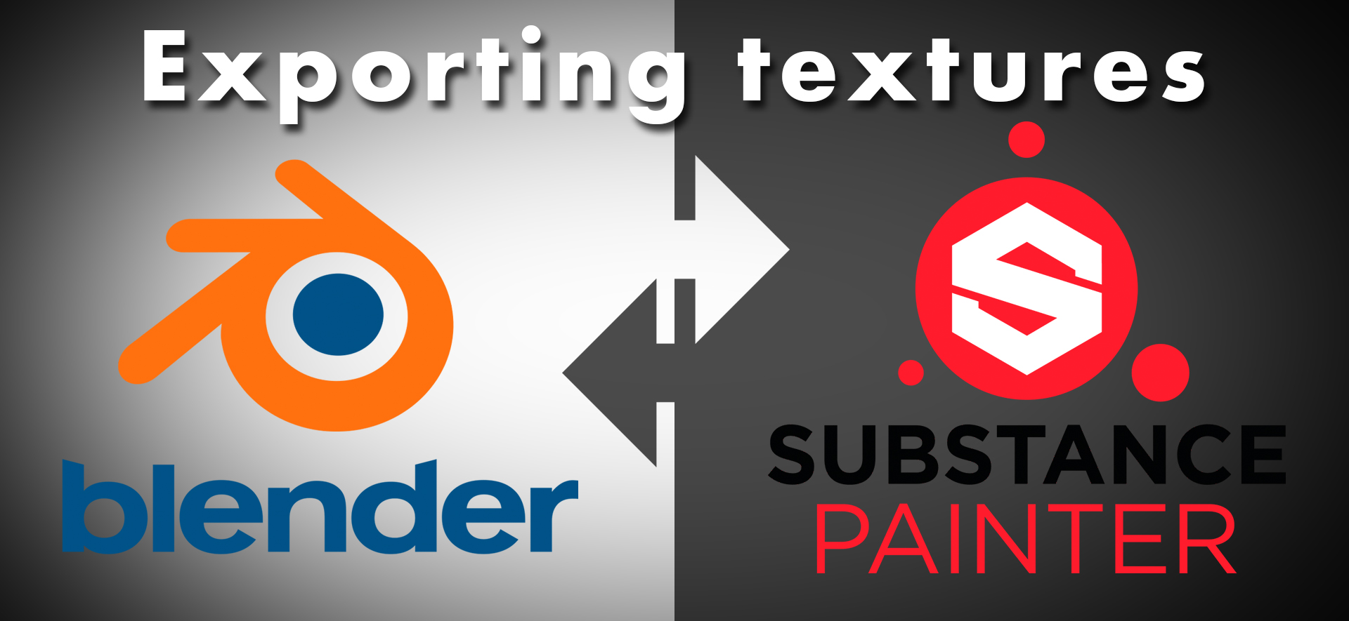 Exporting textures for Blender from Substance Painter