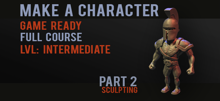 Game Character Part 2 - sculpting - BlenderNation