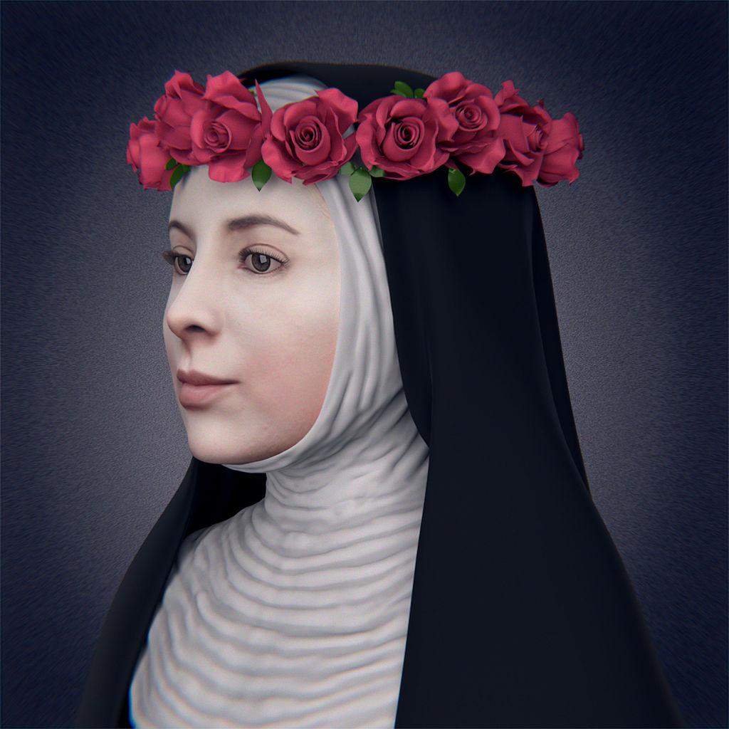 Facial Reconstruction Of Santa Rosa De Lima By Cicero Moraes