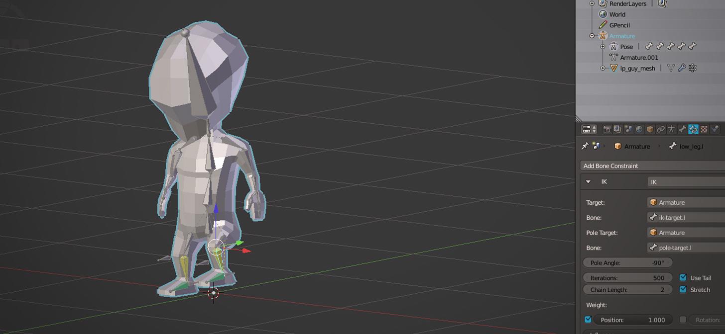 muotityyli hinta alennettu uusi korkea Blender Character Rigging Tutorial - BlenderNation