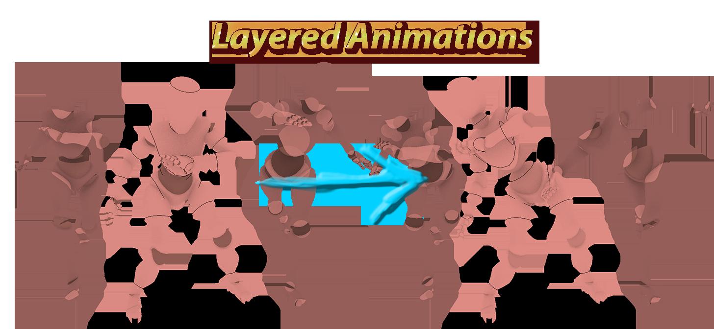 free add on nla additive animation layers blendernation