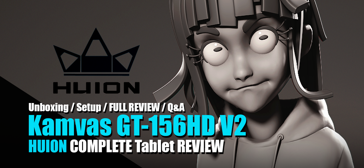 Review: HUION KAMVAS GT-156HD V2 - Drawing Tablet
