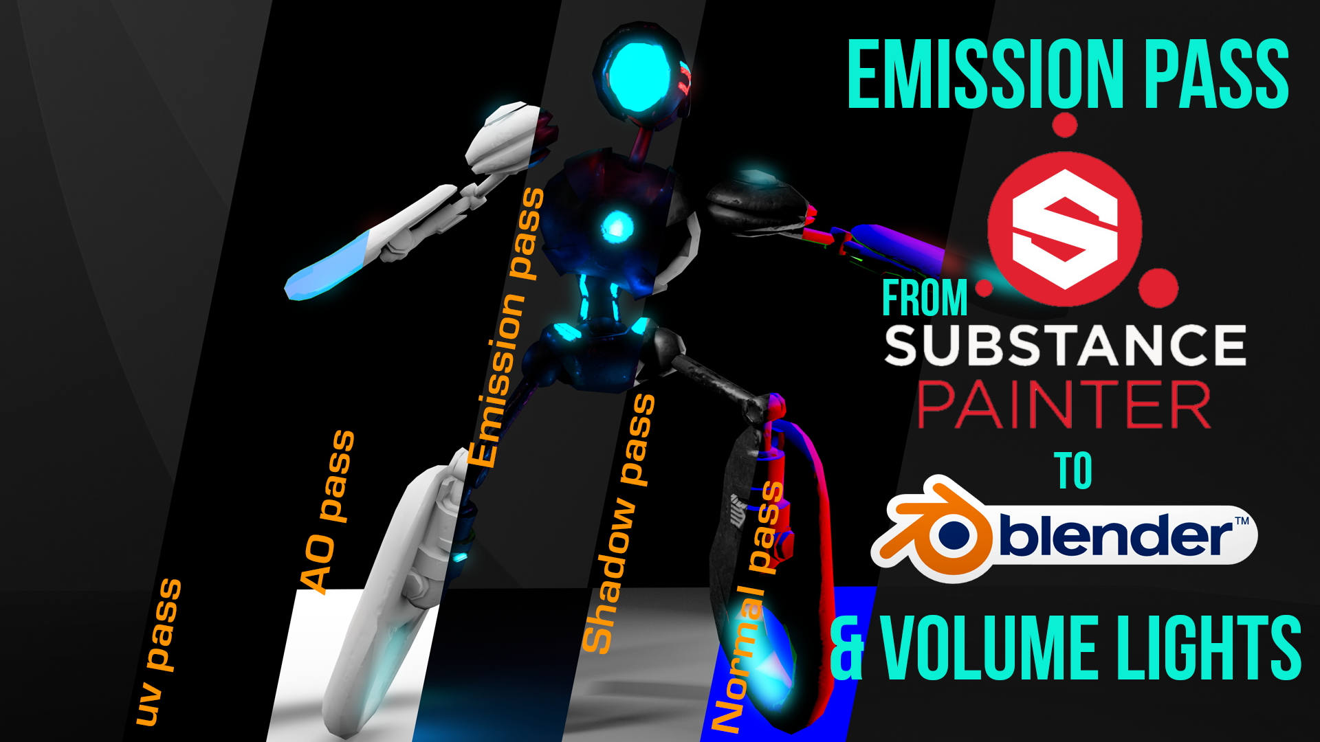 Emission texture from Substance Painter to Blender - BlenderNation