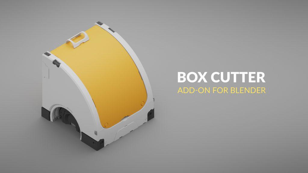 Blender Modeling Add-ons: Box Cutter