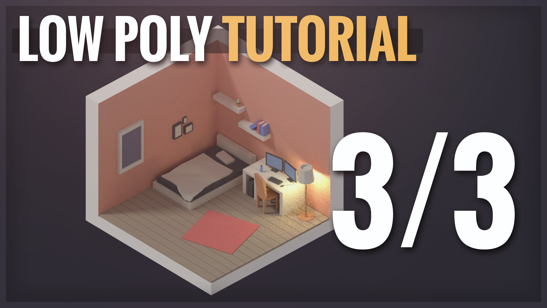 Create Isometric Rooms And Furniture In Blender Part 3/3