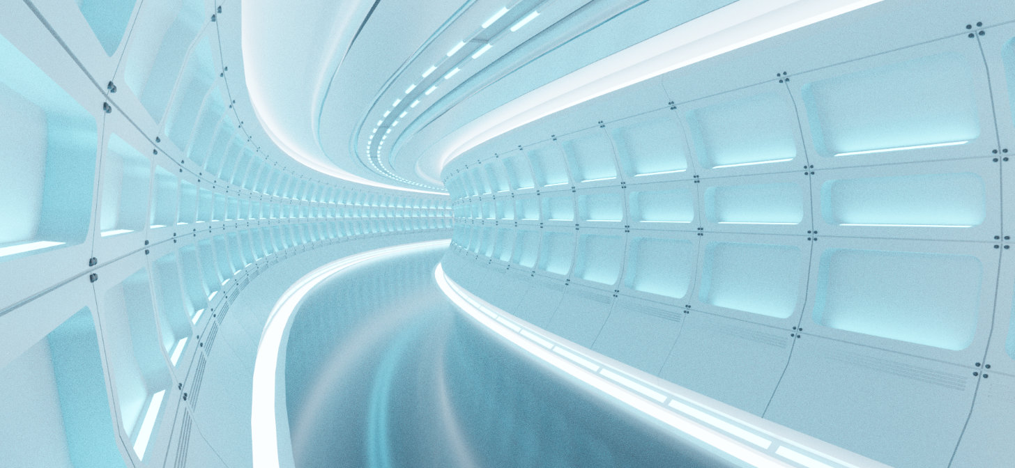 Building a Star Trek Inspired Corridor in Blender