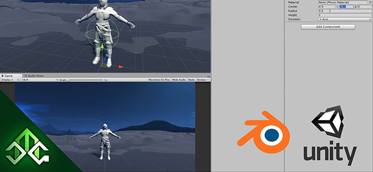 Importing a Game Character from Blender to Unity - BlenderNation