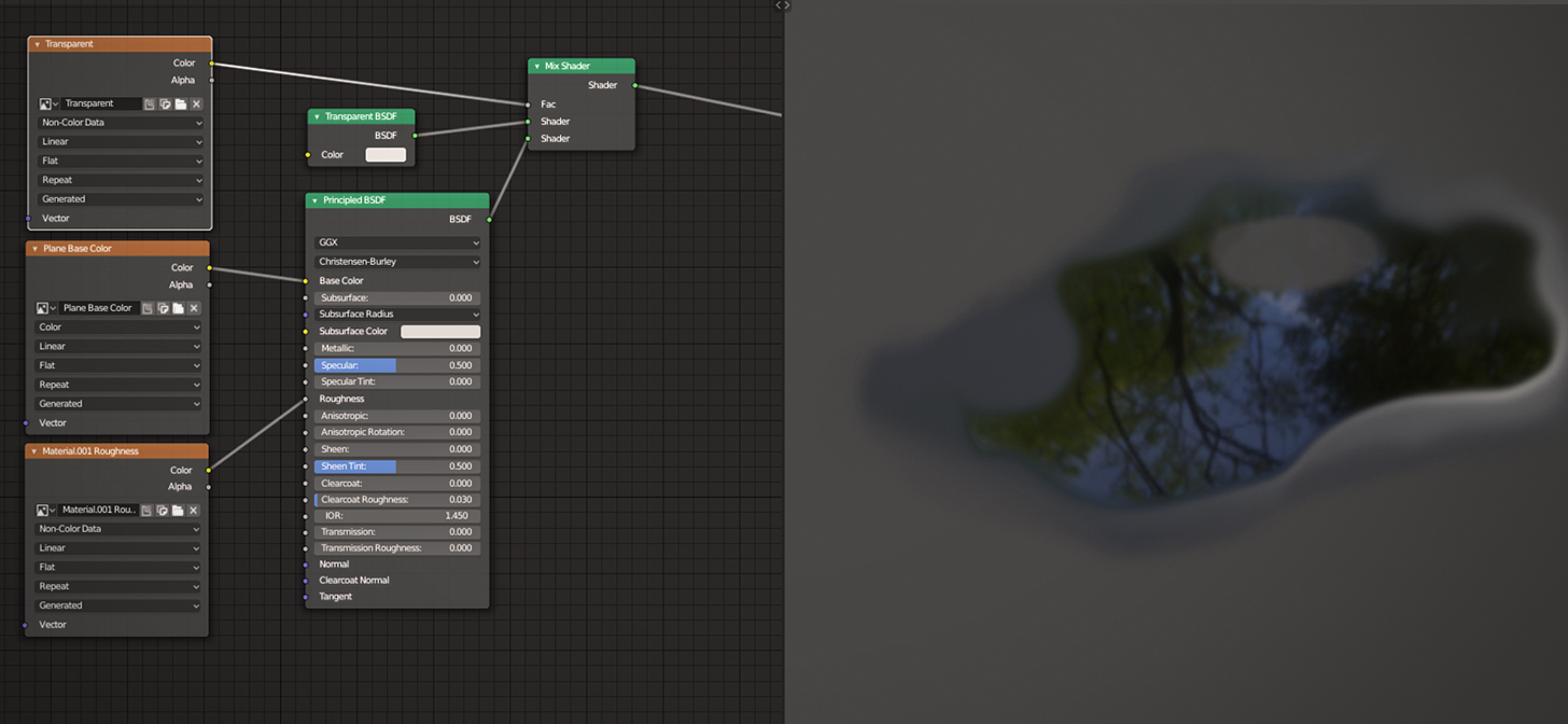 Blender 2 8 Texture Painting : Transparency - BlenderNation