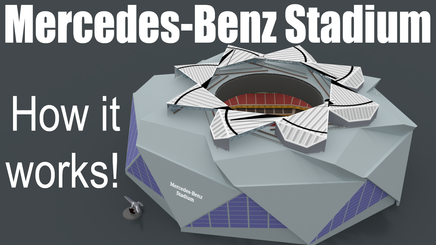 Video How Does The Mercedes Benz Stadium Work