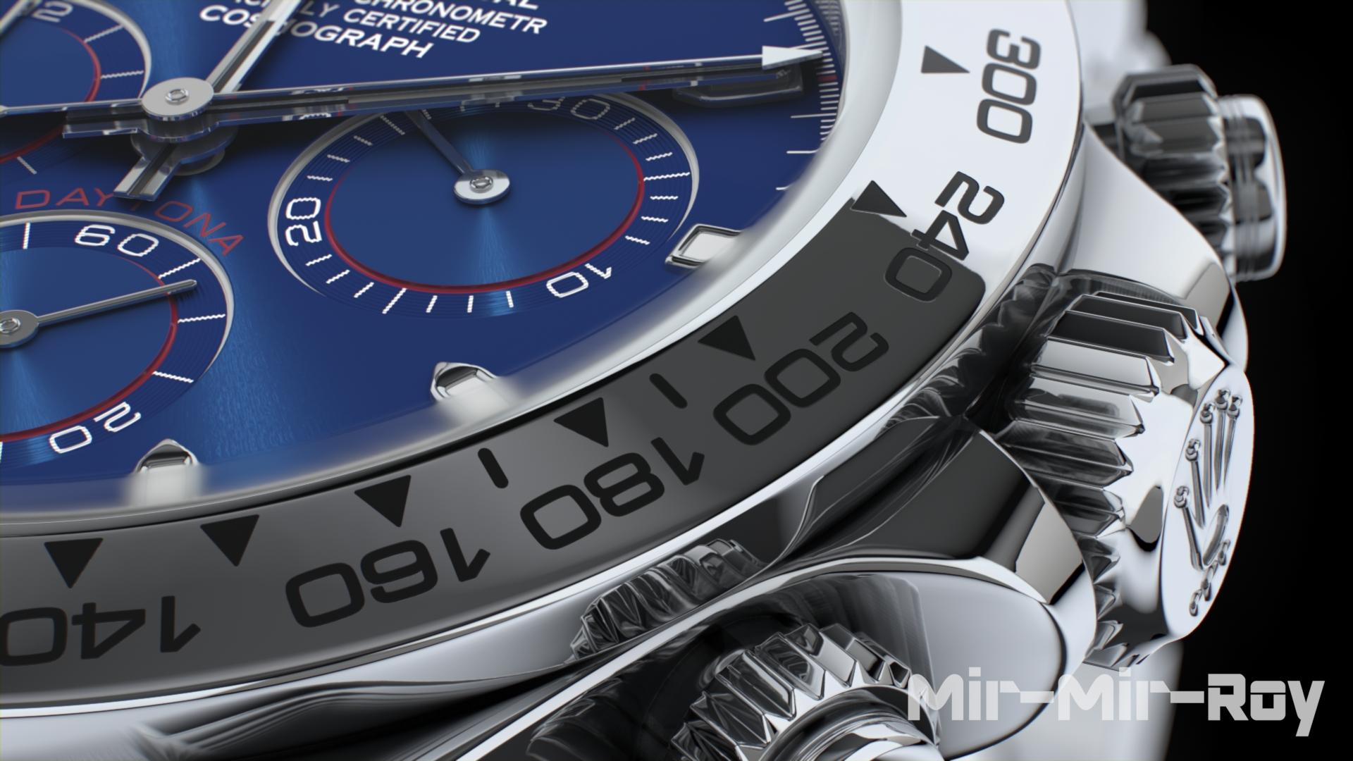 EEVEE Test: Rolex Cosmograph Daytona Watch - BlenderNation