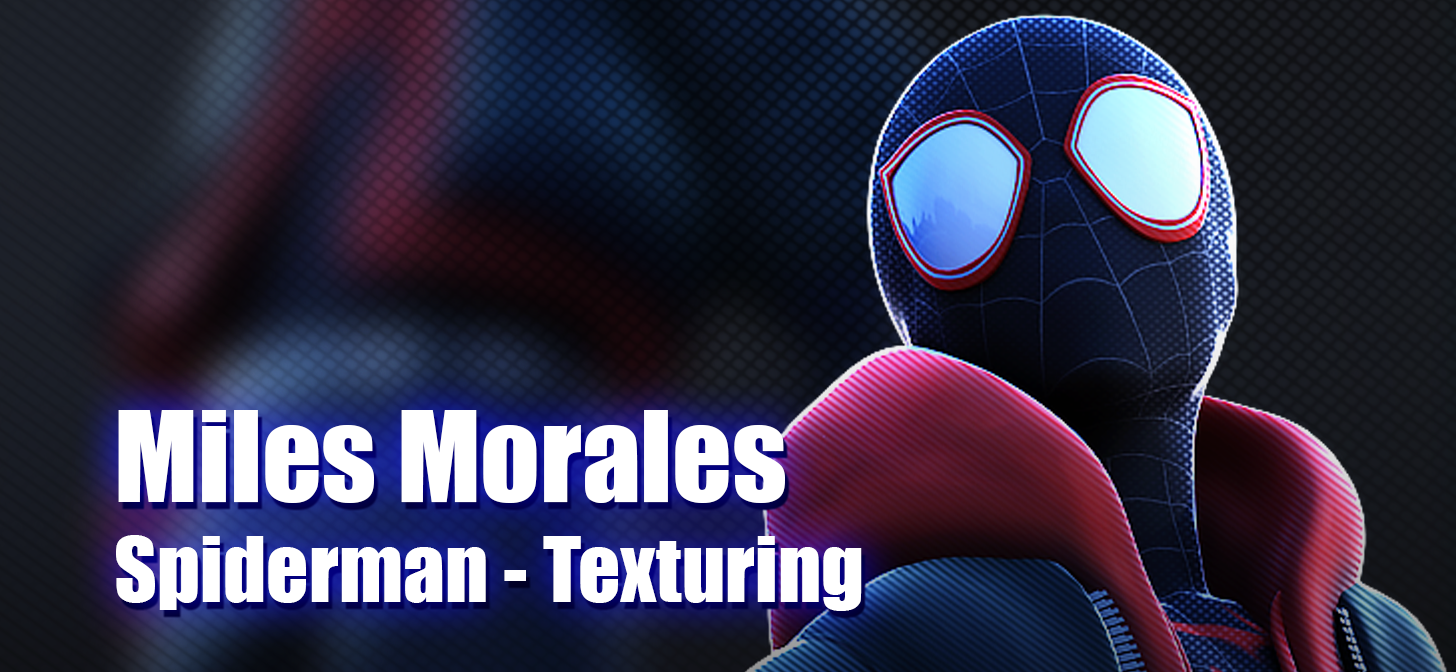 Comic Style and Painting in Blender 3D - Spider-Man: Into The Spider