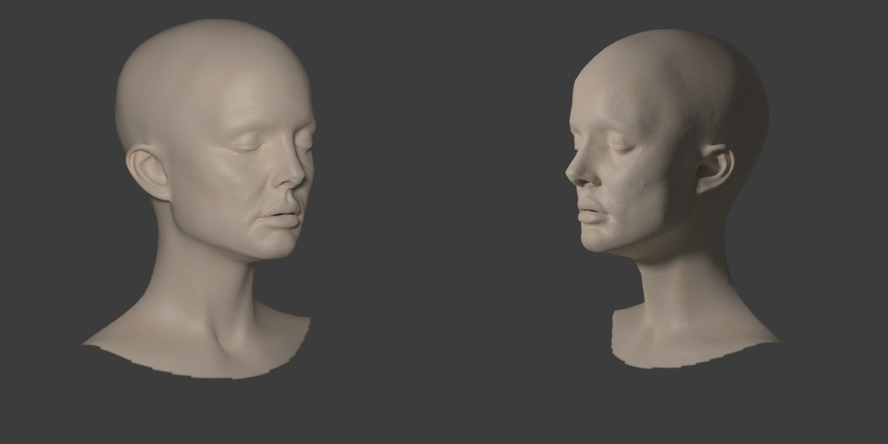 Behind the Scenes: Realistic Natalie Portman Head Study