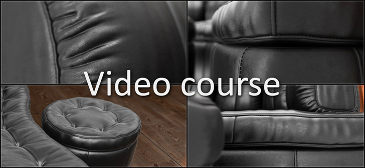 Modeling and visualization a couch in Blender [$]