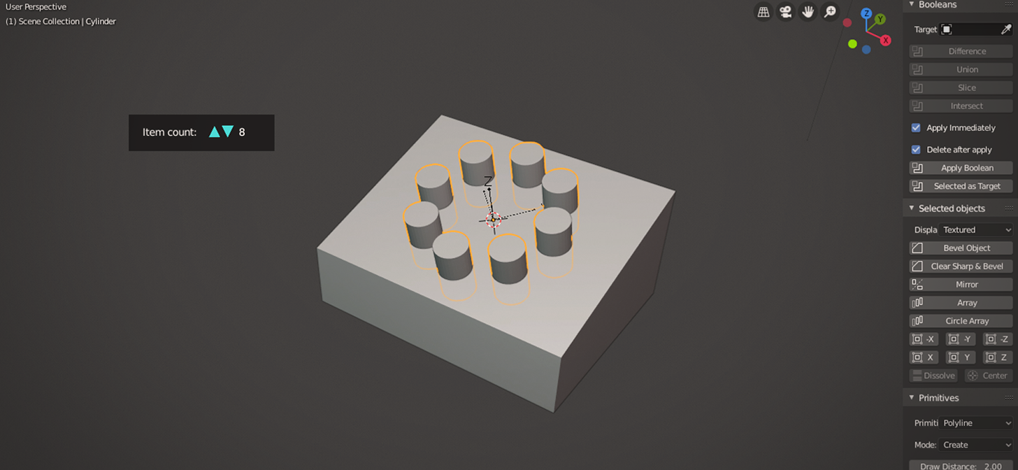 Blender 2 8 Circle Array & Python Coding - BlenderNation