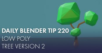 How to create a voxel 3D landscape in Blender 2 8 with Cubster addon