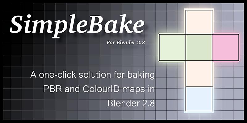 SimpleBake 2 5 - Now with built-in Sketchfab upload [$] - BlenderNation