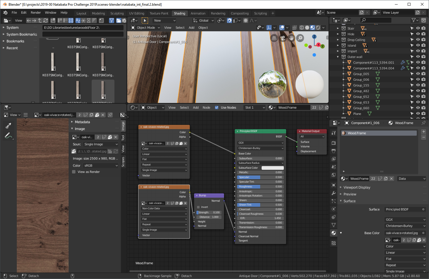 Behind the Scenes: Natabata Interior Project - BlenderNation
