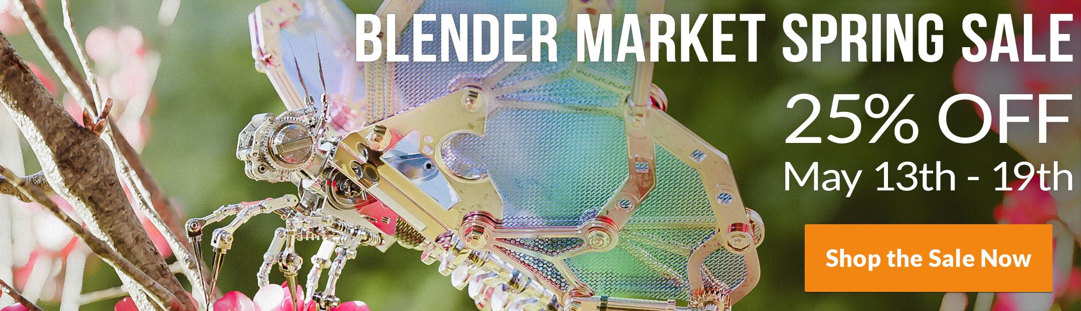 My favourite Blender Art on Sketchfab: 2019, week 20 - BlenderNation