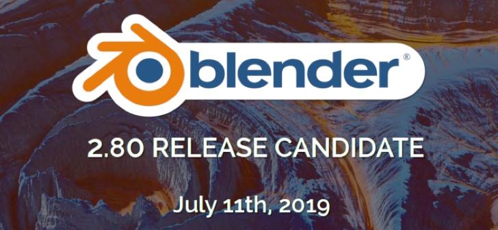 La version candidate de Blender 2.80 sortira le 11 juillet !