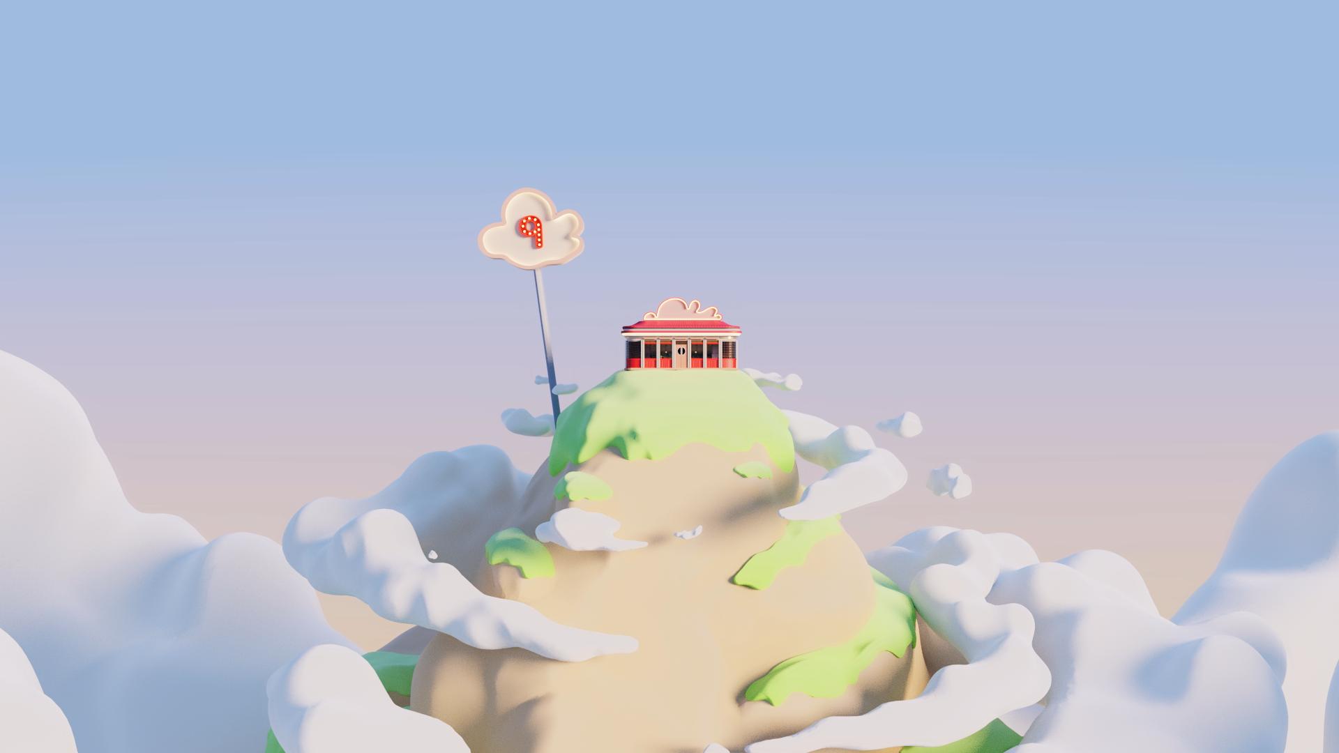 Video: Sesame St - Cloud 9 - BlenderNation