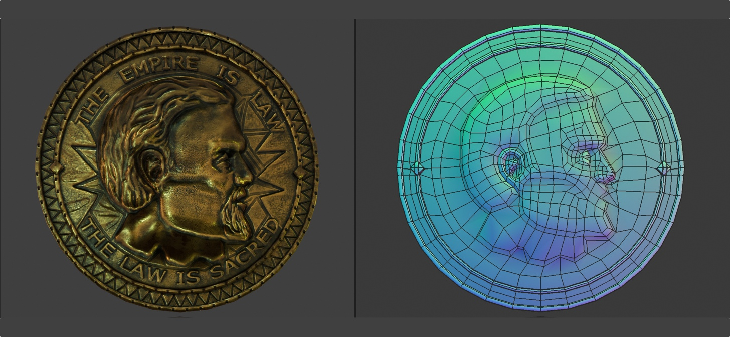 Model Download: Blender 2 8 Septim Coin - BlenderNation
