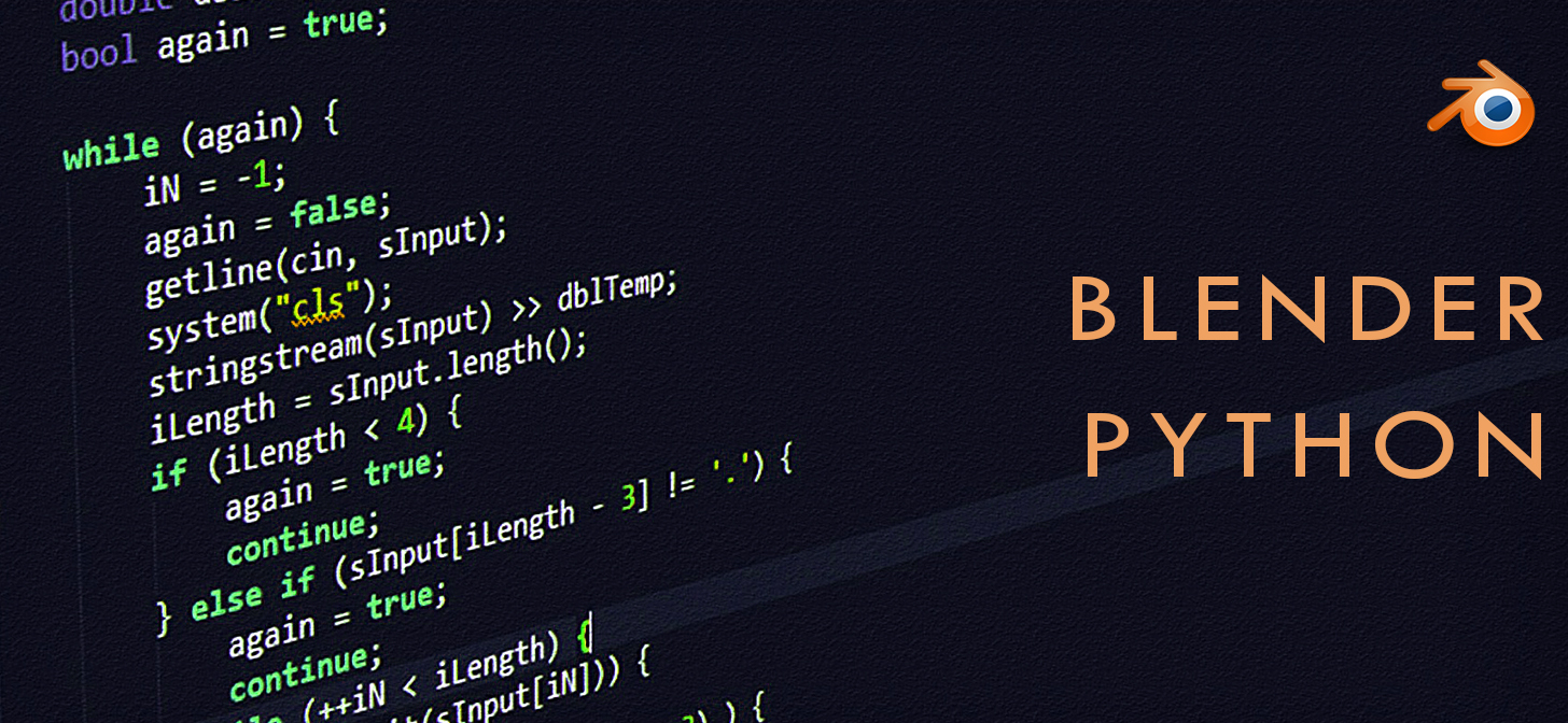 Blender 2 8 PYTHON for Beginners (Automate) - BlenderNation