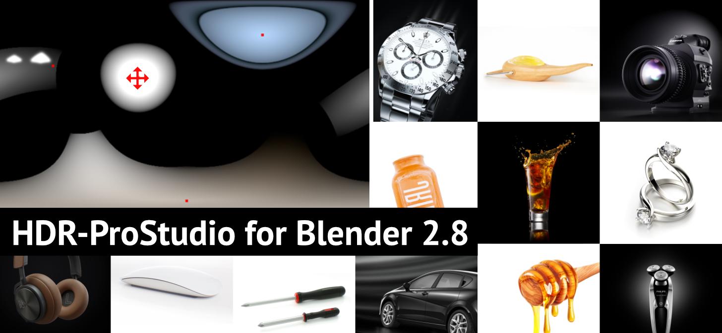HDR-ProStudio for Blender 2 8 [$] - BlenderNation