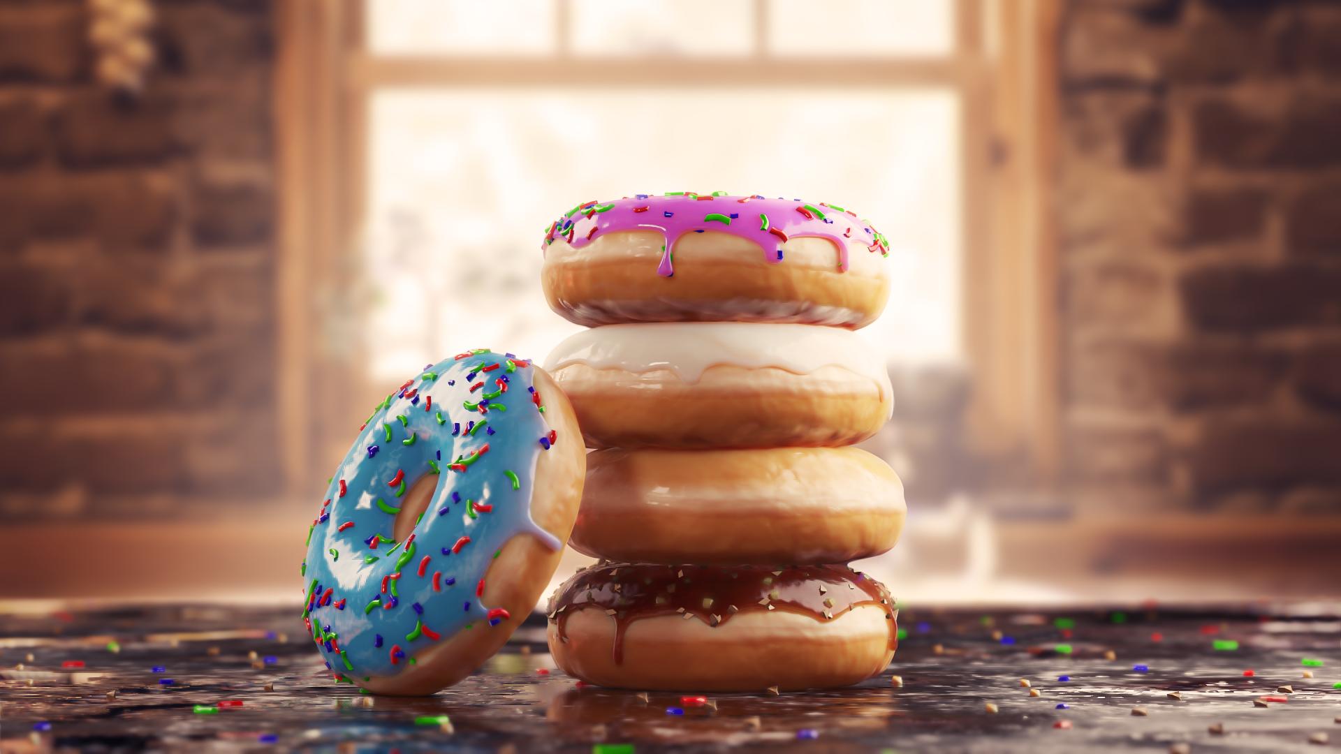 Model Donuts with Blender 2 8 and EEVEE - BlenderNation