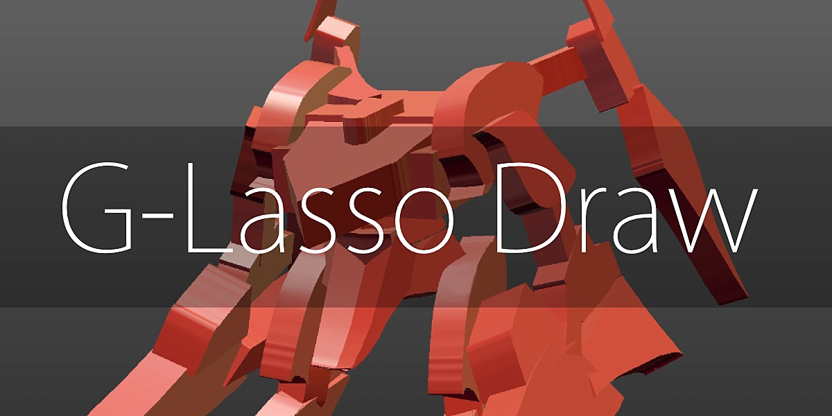 Quickly create shapes with the G-Lasso Draw add-on for