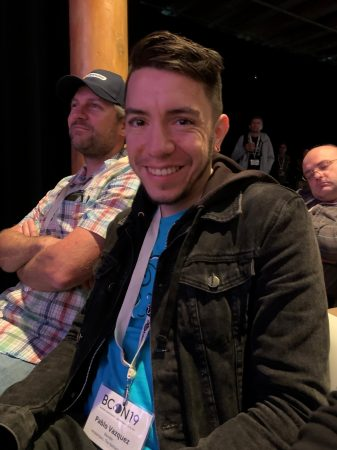 Blender's Pablo Vazquez and the tired BCon visitor