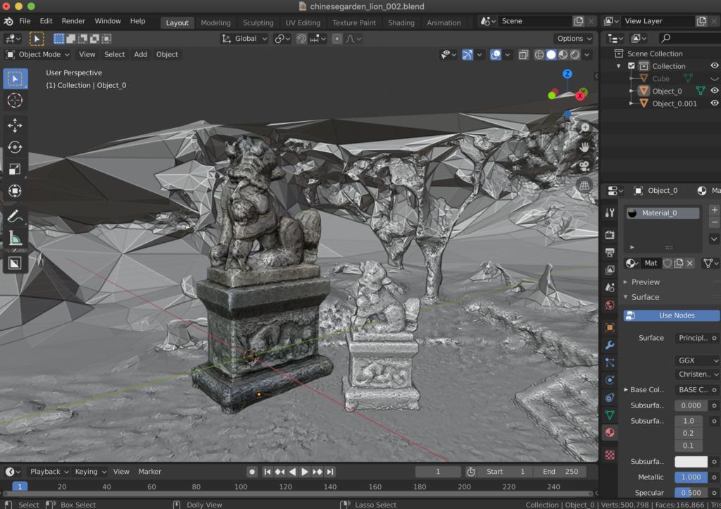 Utilizing DisplayLand App to 3D photogrammetry capture into Blender - BlenderNation