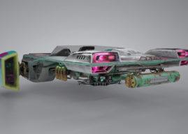 Behind the Scenes: Cyberpunk Speeder