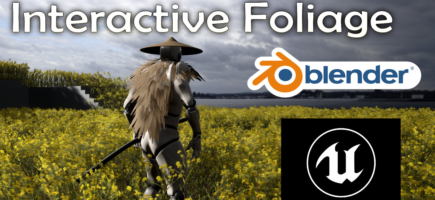 Free Pivot Painter addon for interactive foliage in the Unreal Engine - BlenderNation