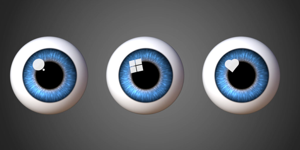 Even fake specular highlights are possible in Danny Mac Eye Designer