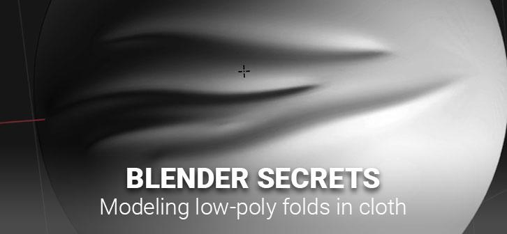 Blender Secrets Modeling Low Poly Cloth