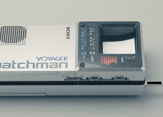 Behind the Scenes: Sony Watchman Voyager