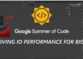 GSoC 2020 Overview: Improving IO performance for big files