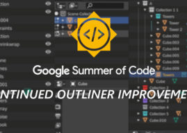 GSoC 2020 Overview: Continued Outliner Improvements